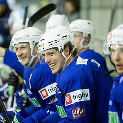 20150421: SLO, Ice Hockey - Practice session of Anze Kopitar with  Slovenian National Team