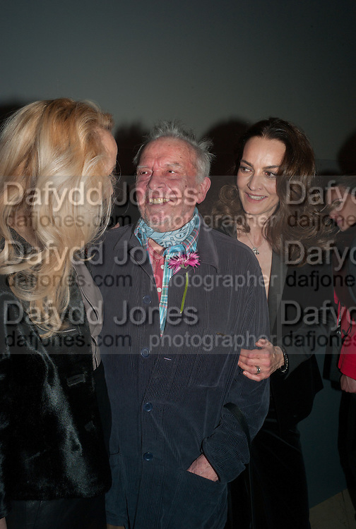 DAVID BAILEY; CATHERINE BAILEY, Opening of Bailey's Stardust - Exhibition - National Portrait Gallery London. 3 February 2014
