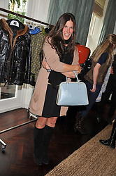 ELIZABETH SALTZMAN at an exclusive preview of fashion label Fay latest collections held at 21 Collingham Road, London SW5 on 12th June 2012.
