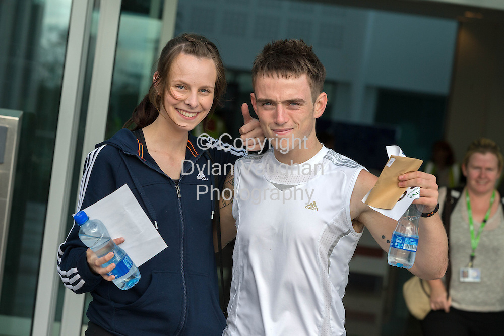 No Repro Fee<br /> <br /> <br /> 301/8/2013<br /> Eva Richardson and Kyle Comerford pictured at the third annual Genzyme for MS Five Mile Road Race in Waterford on Friday (Aug 30). All proceeds from the race are going to the Waterford branch of the Multiple Sclerosis Society of Ireland. <br /> <br /> Picture Dylan Vaughan.