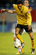 Onderwerp/Subject: Willem II - Roda JC - Eredivisie<br /> Reklame:  <br /> Club/Team/Country: <br /> Seizoen/Season: 2012/2013<br /> FOTO/PHOTO: Abel TAMATA (FRONT) of Roda JC in duel with Ricardo IPPEL (BEHIND) of Willem II. (Photo by PICS UNITED)<br /> <br /> Trefwoorden/Keywords: <br /> #04 $94 &plusmn;1355242121502 &plusmn;1355242121502<br /> Photo- &amp; Copyrights &copy; PICS UNITED <br /> P.O. Box 7164 - 5605 BE  EINDHOVEN (THE NETHERLANDS) <br /> Phone +31 (0)40 296 28 00 <br /> Fax +31 (0) 40 248 47 43 <br /> http://www.pics-united.com <br /> e-mail : sales@pics-united.com (If you would like to raise any issues regarding any aspects of products / service of PICS UNITED) or <br /> e-mail : sales@pics-united.com   <br /> <br /> ATTENTIE: <br /> Publicatie ook bij aanbieding door derden is slechts toegestaan na verkregen toestemming van Pics United. <br /> VOLLEDIGE NAAMSVERMELDING IS VERPLICHT! (&copy; PICS UNITED/Naam Fotograaf, zie veld 4 van de bestandsinfo 'credits') <br /> ATTENTION:  <br /> &copy; Pics United. Reproduction/publication of this photo by any parties is only permitted after authorisation is sought and obtained from  PICS UNITED- THE NETHERLANDS