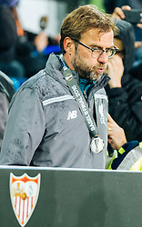 18.05.2016, St. Jakob Park, Basel, SUI, UEFA EL, FC Liverpool vs Sevilla FC, Finale, im Bild Trainer Juergen Klopp (FC Liverpool) entäuscht nach der Niederlage // Trainer Juergen Klopp (FC Liverpool) dejected after losing the final during the Final Match of the UEFA Europaleague between FC Liverpool and Sevilla FC at the St. Jakob Park in Basel, Switzerland on 2016/05/18. EXPA Pictures © 2016, PhotoCredit: EXPA/ JFK