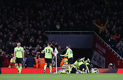John Fleck of Sheffield United celebrates scoring to make it 1-1 - Mandatory by-line: Arron Gent/JMP - 18/01/2020 - FOOTBALL - Emirates Stadium - London, England - Arsenal v Sheffield United - Premier League