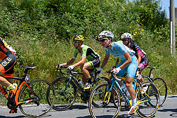 Sofia Bertozzolo (Astana Women's Team) at Giro Rosa 2016 - Stage 6. A 118.6 km road race from Andora to Alassio, Italy on July 7th 2016.