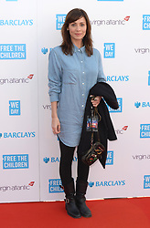 Natalie Imbruglia arriving at WE Day 2015, the SSE Arena, Wembley, London.<br />