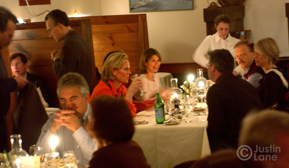 Diners are seen in the Prince and the Pauper, a restaurant in Woodstock, VT.<br /> JUSTIN LANE FOR THE NEW YORK TIMES