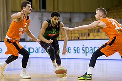 Talor Battle of Petrol Olimpija during Basketballl match between Petrol Olimpija Ljubljana and KK Cedevita in Round #18 of ABA League, on January 27, 2018 in Tivoli sports hall, Ljubljana, Slovenia. Photo by Urban Urbanc / Sportida