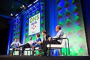 The Linux Foundation host its Open Networking Summit 2016 at Santa Clara Convention Center in Santa Clara, California, on March 15, 2016. (Stan Olszewski/SOSKIphoto)