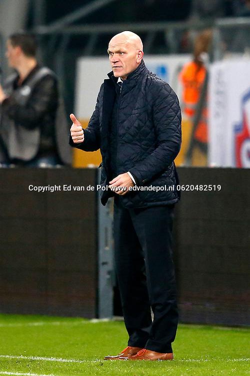 UTRECHT, 19-10-2013, eredivisie, FC Utrecht - NAC Breda, Galgenwaard Stadion, 4-2, FC Utrecht coach Jan Wouters.