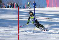 Paul Ladouceur Slalom mens U12 first run.  ©2018 Karen Bobotas Photographer
