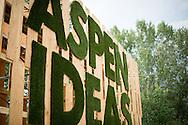 Evening landscapes at the 2015 Aspen Ideas Festival in Aspen, CO. ©Brett Wilhelm