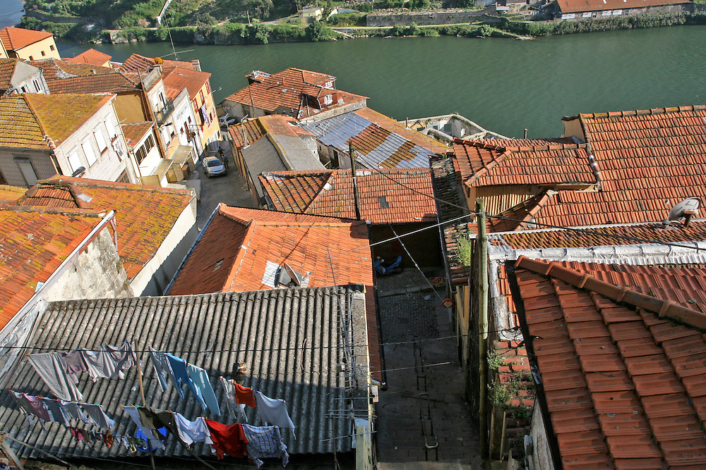 Porto and the Douro river (Portugal)