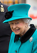 Queen Elizabeth Visits HMS Sutherland