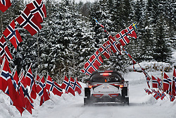 February 15, 2018 - Suede - Ott Tanak (EST) - Martin Jarveoja (EST) - Toyota Yaris WRC (Credit Image: © Panoramic via ZUMA Press)