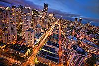 Vancouver Metropolis, Blue Hour