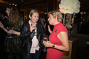 MARY GREENHAM; MARY FELTON, The launch of the 1939 Register, hosted by The National Archives and Findmypast to celebrate one of the most important documents in modern British history. POMPADOUR BALLROOM, HOTEL CAFÉ ROYAL<br /> 68 Regent Street, London. 3 November 2015