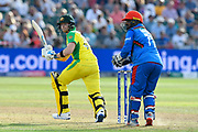 Steve Smith of Australia batting during the ICC Cricket World Cup 2019 match between Afghanistan and Australia at the Bristol County Ground, Bristol, United Kingdom on 1 June 2019.