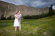FJ & Anne's Arapahoe Basin Wedding - The Portraits