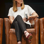 London,England,UK. 11th May 2017. Helen Richardson-Walsh talks at the Women's Sport Trust Awards - #BeAGameChanger at The Troxy,london, UK. by See Li