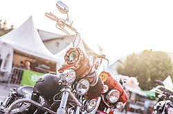 26.06.2019, Schladming, AUT, Rock the Roof 2019, im Bild Harley Davidson Motorrad // Harley Davidson Motorcycle during the Rock the Roof Biker Meeting in Schladming, Austria on 2019/06/26. EXPA Pictures © 2019, PhotoCredit: EXPA/ JFK