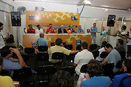 Footbal-FIFA Beach Soccer World Cup 2006 - Press Conference at Media Center- Rio de Janeiro, Brazil - 01/11/2006.<br />