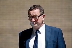 © London News Pictures. 05/06/2013. London, UK. Former News of the World news editor, JAMES WEATHERUP, leaving Southwark Crown Court in London where he faced charges relating to phone hacking scandal at the News of The World. Photo credit: Ben Cawthra/LNP  Three former News of the World staff have pleaded guilty to charges related to hacking phones, the trial of Rebekah Brooks and Andy Coulson heard.<br />