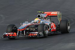 23.10.2010, Korea International Circuit, Yeongam, KOR, F1 Grandprix of Korea, im Bild .Lewis Hamilton (GBR), McLaren F1 Team., EXPA Pictures © 2010, PhotoCredit: EXPA/ InsideFoto/ Hasan Bratic *** ATTENTION *** FOR AUSTRIA AND SLOVENIA USE ONLY!