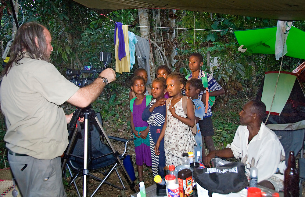 Many of our guests had never seen westerners before or our technology.  They were fascinated by our technology, especially when we could show them their images thru video or digital camera playback.
