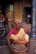 Market stall holders, Madras, Tamil Nadu