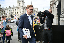 © Licensed to London News Pictures. 26/03/2019. London, UK. TOBIAS ELLWOOD MP seen in Westminster, London. MPs have passed an amendment which gives Parliament a series of indicative votes on alternatives to Prime Minister Theresa May's Brexit deal. Photo credit: Ben Cawthra/LNP