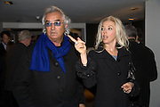 FLAVIO BRIATORE AND TAMARA BECKWITH, . Kevin Lynch: Octagon - private view Hamiltons Gallery, 13 Carlos Place, London, W1, 17 January 2008. -DO NOT ARCHIVE-© Copyright Photograph by Dafydd Jones. 248 Clapham Rd. London SW9 0PZ. Tel 0207 820 0771. www.dafjones.com.