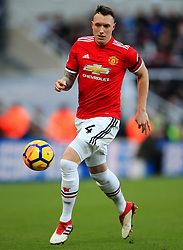 Phil Jones of Manchester United - Mandatory by-line: Matt McNulty/JMP - 11/02/2018 - FOOTBALL - St James Park - Newcastle upon Tyne, England - Newcastle United v Manchester United - Premier League