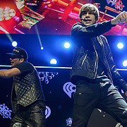WASHINGTON, D.C. - December 16th, 2013 - Austin Mahone performs onstage during Hot 99.5's Jingle Ball 2013, presented by Overstock.com, at Verizon Center on December 16, 2013 in Washington, D.C. (Photo by Kyle Gustafson / For The Washington Post)
