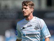 Nikolaj Hansen (FC Helsingør) under træningskampen mellem Lyngby Boldklub og FC Helsingør den 3. juli 2019 på Lyngby Stadion (Foto: Claus Birch)