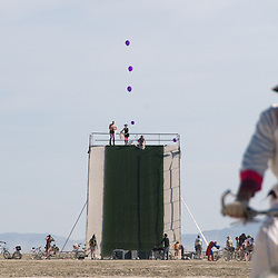 2009 Burning Man Arts & Culture Festival in Black Rock City, Nev. near the town of Gerlach...Photo by David Calvert