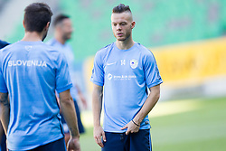 Dejan Lazarevic during practice session of Slovenian National Football Team before Euro 2016 Qualifications match against Switzerland, on September 1, 2015 in SRC Stozice, Ljubljana, Slovenia. Photo by Urban Urbanc / Sportida