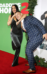 John Cena and Nikki Bella at the Los Angeles premiere of 'Daddy's Home 2' held at the Regency Village Theatre in Westwood, USA on November 5, 2017.