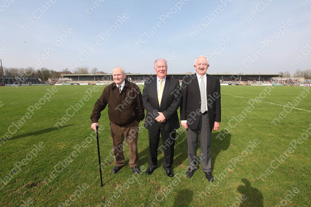 Members of the CBS Harty team at half time in Cusack Park on Sunday.<br /> Pic. Brian Arthur/ Press 22.