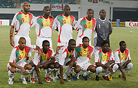 Photo: Steve Bond/Richard Lane Photography.<br /> Nigeria v Mali. Africa Cup of Nations. 25/01/2008. Mali line up