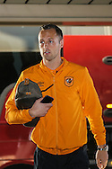 David Meyler of Hull City arrived ahead of the Sky Bet Championship match at stadium:mk, Milton Keynes<br /> Picture by David Horn/Focus Images Ltd +44 7545 970036<br /> 31/10/2015
