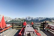 Trentino,  Località Col Rodella, Campitello di Fassa,rifugio des Alpes