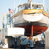 images from Fall 2013 at Newport Shipyard Marina in Newport, R.I.