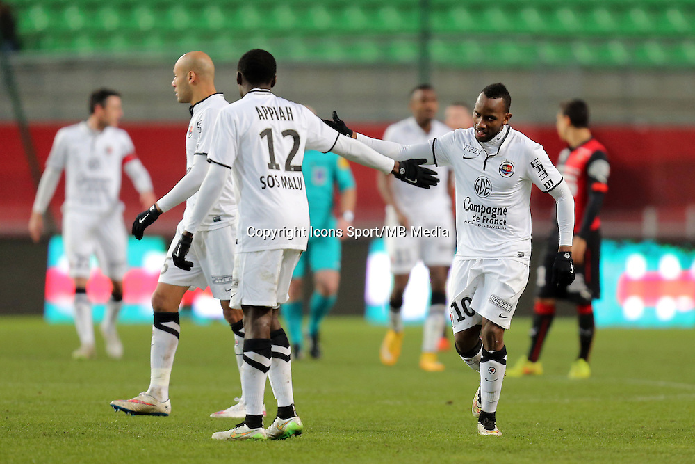 Lenny NANGIS   - 25.01.2015 - Rennes / Caen  - 22eme journee de Ligue1<br />Photo : Vincent Michel / Icon Sport