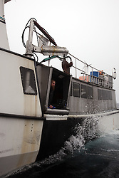 USA ALASKA BERING SEA 10JUL12 - The Mystery, a fishing boat catching Halibut in the Bering Sea, Alaska.....Photo by Jiri Rezac / Greenpeace....© Jiri Rezac / Greenpeace