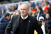 Nottingham Forest manager Mark Warburton during the EFL Sky Bet Championship match between Queens Park Rangers and Nottingham Forest at the Loftus Road Stadium, London, England on 29 April 2017. Photo by Andy Walter.