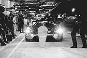 June 10-16, 2019: 24 hours of Le Mans.  66 FORD CHIP GANASSI TEAM UK, FORD GT, Billy JOHNSON,  Stefan MÜCKE, Olivier PLA pitstop