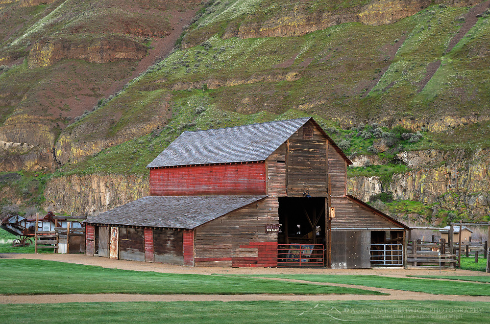 Red Barn, Cottonwood Canyon State Park, Oregon
