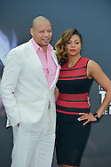 Terence Howard and Taraji Henson poses at a photocall for the TV series 'Empire' during the 55th Monte Carlo TV Festival on June 13, 2015 in Monte-Carlo, Monaco
