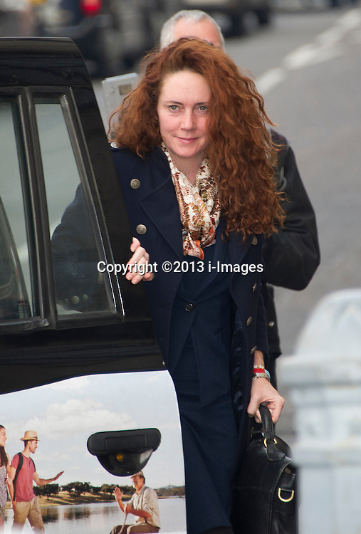 Rebekah Brooks arriving at the Old Bailey, London, United Kingdom. Tuesday, 10th December 2013. Picture by i-Images