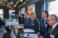 UTRECHT -  Algemene Ledenvergadering van de Nederlandse Golf Federatie NGF.  Het bestuur met oa COPYRIGHT KOEN SUYK